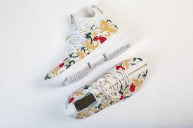 lebron shoes 2017. nike lebron james 15 zip floral flowers white sneaker shoe lebron shoes 2017 5