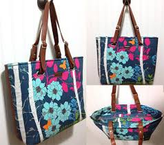 Tote Bag Sewing Pattern Impressive The Totes Ma Tote Paper Pattern By Emmaline Bags