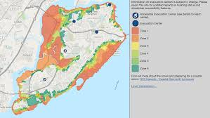 know your flood zone maps show evacuation centers elevation