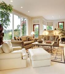 white furniture living room ideas. In This Traditionally Appointed Living Room, We See Both Textural Brown Sofas And A Bold White Furniture Room Ideas