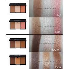 sleek face contour kit in dark vs face form in dark google search