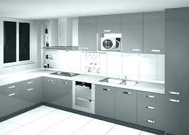 modern white and black kitchen. White Contemporary Modern And Black Kitchen
