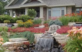 rock garden designs front yard