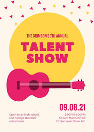 Customize 127 Talent Show Flyer Templates Online Canva