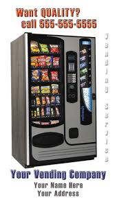 Vending Machine Service Fascinating Vending Business Cards Vending Service Cards Vending Machine Cards