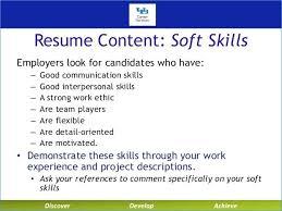 Resume Soft Skills Igniteresumes Com