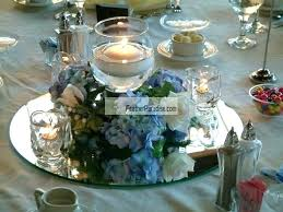 table mirror centerpiece mirrors inch round 6 centerpieces for weddings