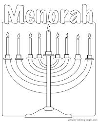 coloring pages hanukkah sheet celebrate the season by printable