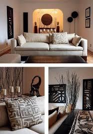Image Living Room Living Room African Decor Graphic Shapes Nature Inspired Clean Linesbeautiful Pinterest Des Idées De Déco Africaine Pour Votre Intérieur African Decor