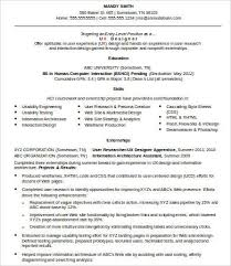 resume ux designer ux designer resume 8 free word pdf documents download