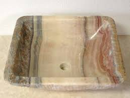 Image result for Natural Stone Vessel Sink