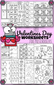 Valentine's tags for gifts and lots of other cute creativity. Tons Of Free Valentine S Day Worksheets