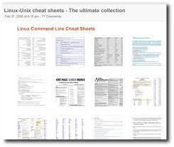 linux cheat sheet top 10 best cheat sheets and tutorials for linux unix commands