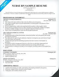 Example Of Rn Resume Unique Examples Of Nurse Resumes Resume Example For Nurses Resume Examples