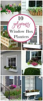 Flower Window Box Designs 10 Gorgeous Window Box Planters How To Style Build Flower