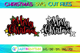 Search results for merry christmas logo vectors. 6 Merry Christmas Svg Cut Files Designs Graphics