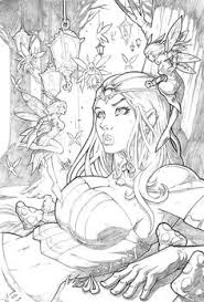 grimm fairy tales wonderland by vinz el tabanas deviantart find this pin and more on coloring book