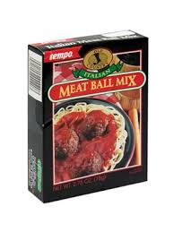 Tempo Mixing Chart Tempo Old Country Italian Meatball Mix
