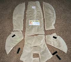 instructions on how to recover a car seat