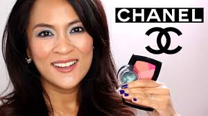 a shimmery green chanel spring 2016 makeup tutorial makeup and beauty