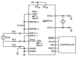 transducer sensor excitation and measurement techniques analog eliminating errors due to field wiring resistance in 3 wire rtd applications