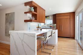 mid century modern countertops in modern kitchen trends wood countertops mid century modern