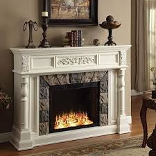 Nice Design White Electric Fireplaces Antique Fireplace