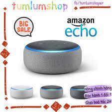 Amazon Echo Dot 3 - Loa thông minh thế hệ mới nhất chính hãng 700,000đ