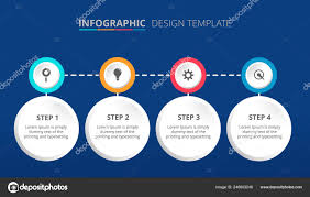 Infographic Process Design Process Infographic Template Design Steps Vector