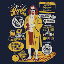 Big Lebowski Quotes Tshirt Best Big Lebowski Quotes