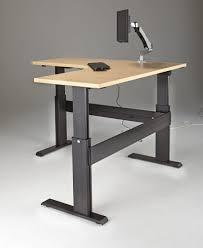 sit stand desk legs diy electric adjule standing awesome amazing black metal corner keyboard of cur