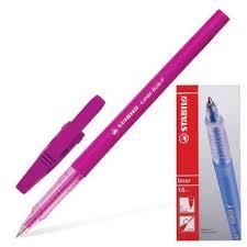 <b>Ручка шариковая STABILO Liner</b> 808/56 розовая - купить ручку по ...