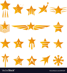 Logos With Stars Gold Stars For Logos And Emblems