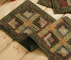 Primitive Country Quilted Table Runners & Tea Cabin Quilted Table Runner Adamdwight.com