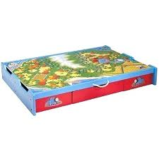 under bed play table friends wooden railway the trundle tank engine thomas and train toys r