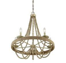 trade winds tw020166 97 trade winds tw020166 97 5 light chandelier in natural wood with rope