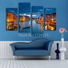 Living Room Canvas Paintings Aliexpresscom Buy 2016 Real Wall Art Beautiful Venice City