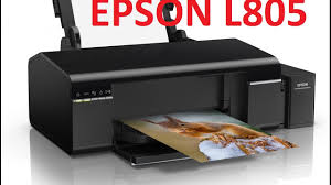 Printer Color Wifi Epson L805 Youtube
