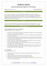 Accenture Analyst Sample Resume Fascinating Talend Developer Sample Resume Best Of Analyst Programmer Resume