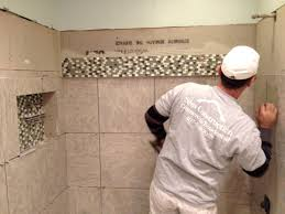 fabulous tile installation accent bathroom installing decorative bathroom glass tiles bathroom glass partition