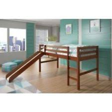 loft with slide. blake loft bed with slide in espresso