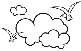 Cloud Clipart Black And White 60 Cliparts