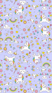 Cute Unicorn i Phones Wallpaper