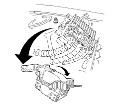 Disconnect the negative battery cable refer to battery negative cable disconnect connect procedure in engine electrical