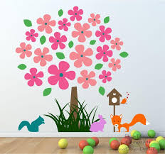 Small Picture Flower Nursery Tree Wall Decal by Decor Designs Decals Nursery Wall