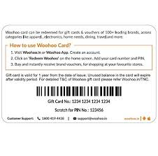 Create A Voucher Custom Woohoo Gift Card Rs48 Amazonin Gift Cards