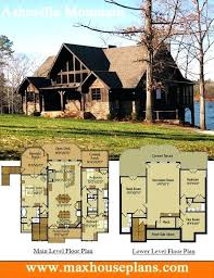 unique mountain home house plans or modern house plans for sloped lots luxury 29 mountain home