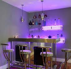 Bespoke 'Q Series' corner bar with 2 x Litebar illuminated back bar shelves  plus