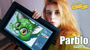 <b>Графический планшет PARBLO</b> Coast 16 | ОБЗОР - YouTube