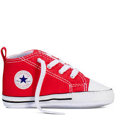 converse kids shoes. chuck taylor first star infant red converse kids shoes